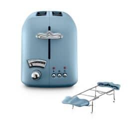 CT021.AZ Argento und Flora Toaster