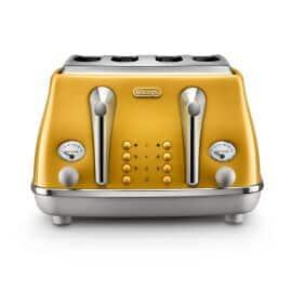 CTOC4003.Y Icona Capitals 4 Slice Toaster New York Yellow