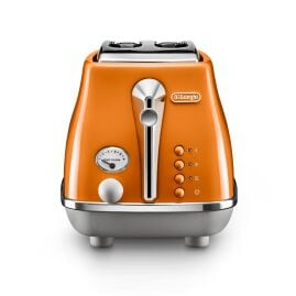 CTOC2003.O Icona Capitals 2 Slice Toaster Rome Orange