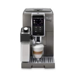 Dinamica Plus, Smart Coffee & Espresso Machine with Coffee Link Connectivity App + Automatic Milk Frother, Titanium - ECAM37095TI