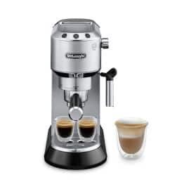 Dedica Manual Espresso Machine - Stainless Steel - EC680M