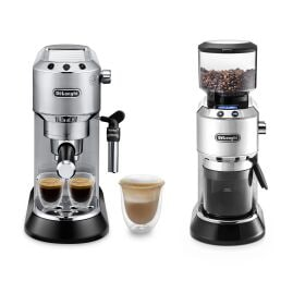 Máquina de café expresso ECKG6821.M Manual e moinho de café elétrico