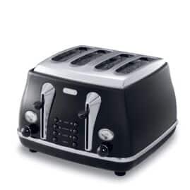 CTO4003.BK Icona Classic Toaster