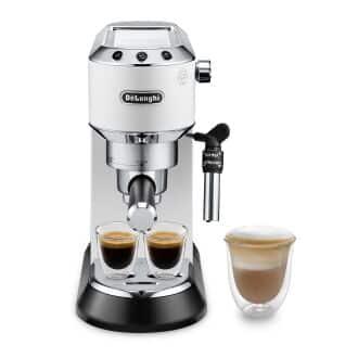 EC685.W Dedica Manual espresso maker