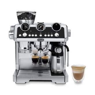 La Specialista Maestro Espresso Machine with LatteCrema Automatic Milk Frother, Stainless Steel - EC9665M